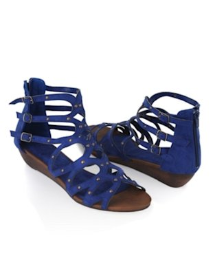 Gladiator Wedge Sandals