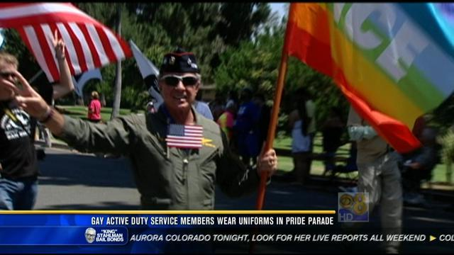 Uniformed military to march in pride parade