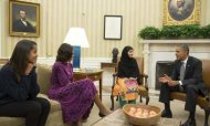 Malala Tells Obama: 'End The Drone Strikes'
