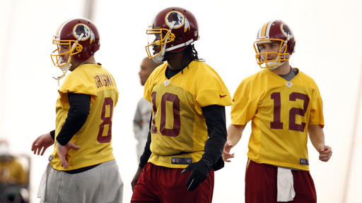 Shanahan sits RG3; Cousins will start for Redskins