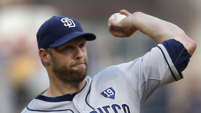Stults leads Padres to 2-1 win over Pirates