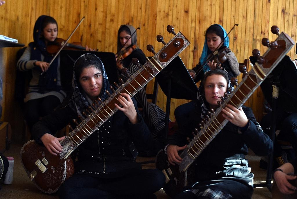Afghanistan's first female orchestra set to take Davos