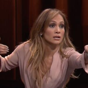 JLo Gets Ultra Competitive on 'The Tonight Show'