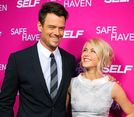 Josh Duhamel: I Got Ryan Seacrest's Approval Before Intimate Scene With Julianne Hough