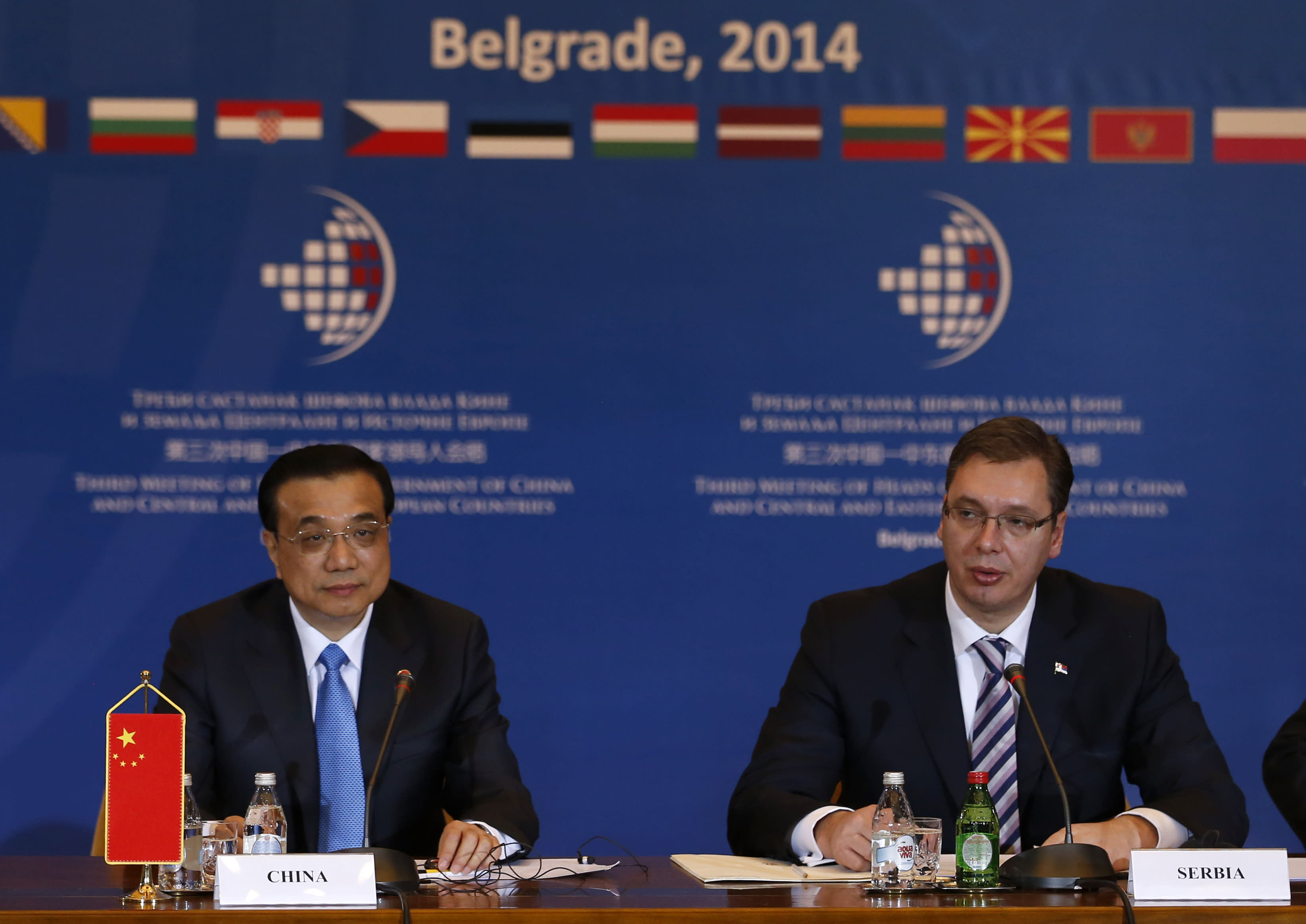 China looking for new markets in eastern Europe