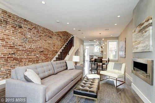 Can You Guess What This Adams Morgan Row House is Worth?