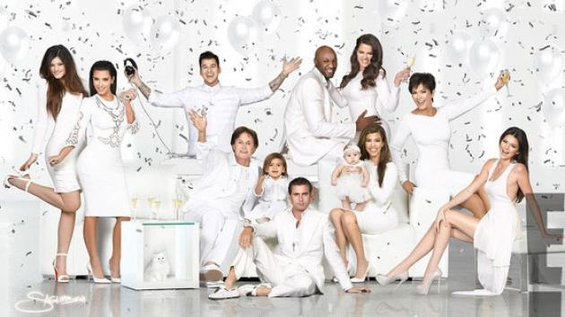 The 2012 Kardashian Family Christmas card -- Nick Saglimbeni