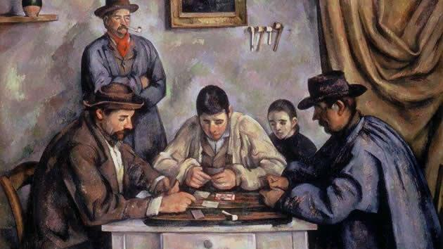 """""""The Card Players"""" by Paul Cézanne, sold for $250 million in 2011."""