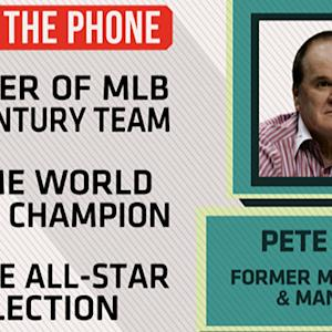 Pete Rose talks Baseball Hall of Fame