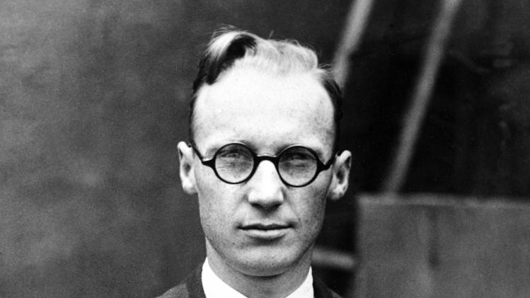 FILE - This 1925 file photo shows high school biology teacher John T. Scopes who was charged with violating a Tennessee law that forbids the teaching of the theory of evolution in public schools.  The town hosts an annual festival, this year July 20-21, marking the anniversary of the famous trial about the teaching of evolution in public schools.  (AP Photo, file)