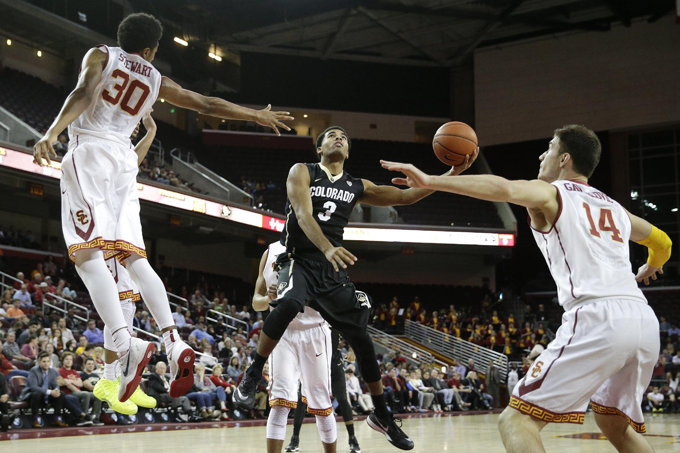 Booker, Colorado outduel USC 98-94 in triple overtime