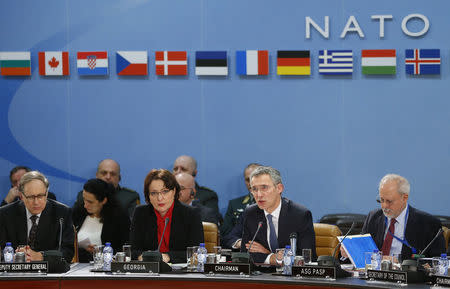 NATO launches sea mission against migrant traffickers