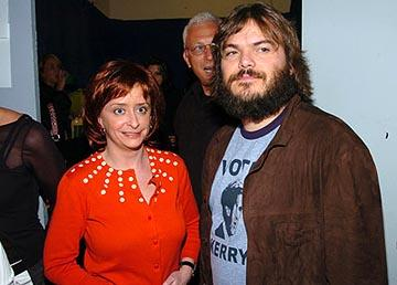 Rachel Dratch and Jack Black MTV Movie Awards - 6/5/2004