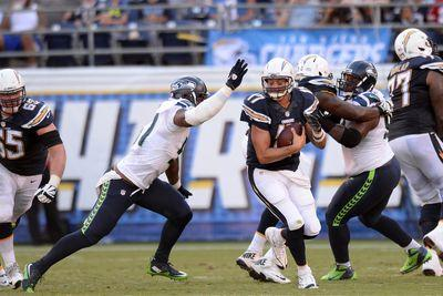 Chargers players accuse Seahawks' Frank Clark of trying to punch Philip Rivers