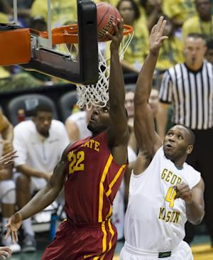 No. 17 Iowa State beats George Mason 79-67