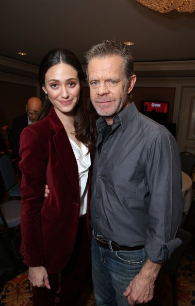 Emmy Rossum and William H. …