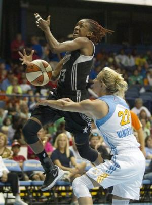 Young, Robinson lead Silver Stars past Sky