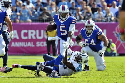 Tyrod Taylor's injury could give EJ Manuel the start vs. Bengals
