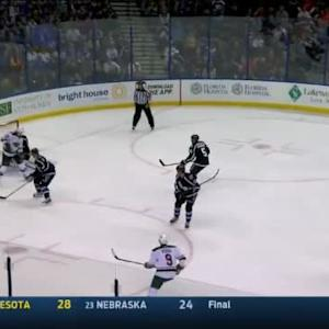 Ben Bishop Save on Nino Niederreiter (08:30/1st)