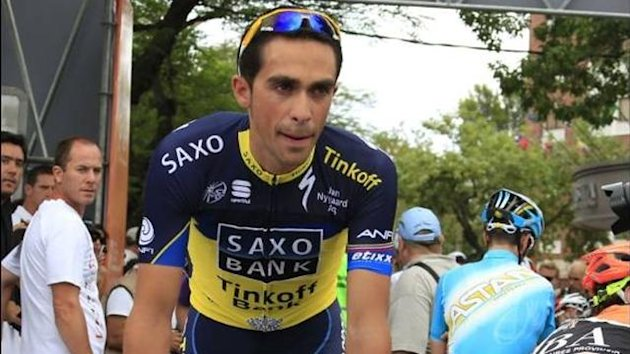 Alberto Contador at the Tour de San Luis