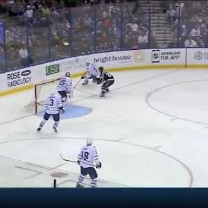 Ryan Callahan Hit on Jake Gardiner (05:00/2nd)