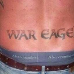 Auburn Fan's Terrible Tattoo