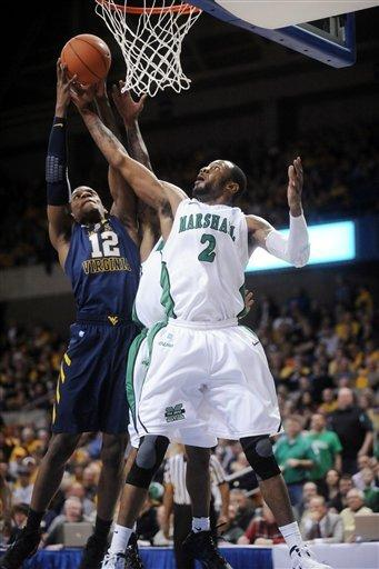 Jones leads West Virginia over Marshall 78-62