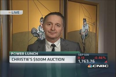 Christie's $500 million auction