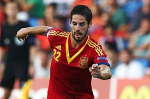 Isco pulls out of Spain squad
