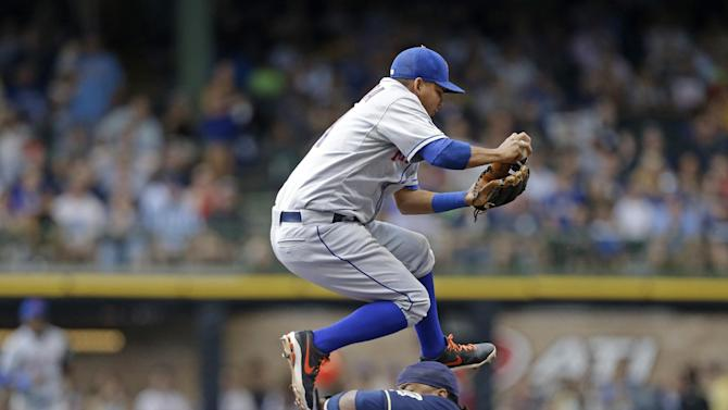 Duda and deGrom deliver, Mets defeat Brewers 2-0