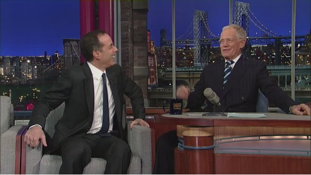 David Letterman - Will Jerry …