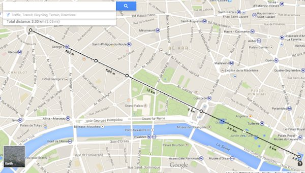 how to build a travel map in google maps