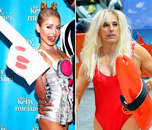 Kelly Ripa Channels Miley Cyrus; Matt Lauer Wears a Pamela Anderson Halloween Costume: Today's Top Stories