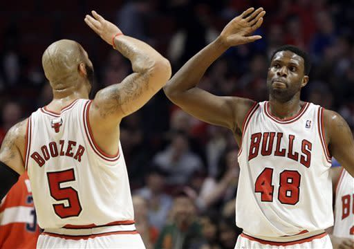 Bulls beat Wizards to lock up No. 5 seed in East