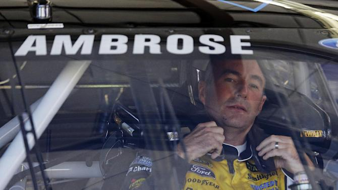 Ambrose dodges questions about future in NASCAR