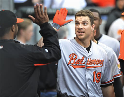 Davis hits 32nd homer as Orioles top White Sox 4-2