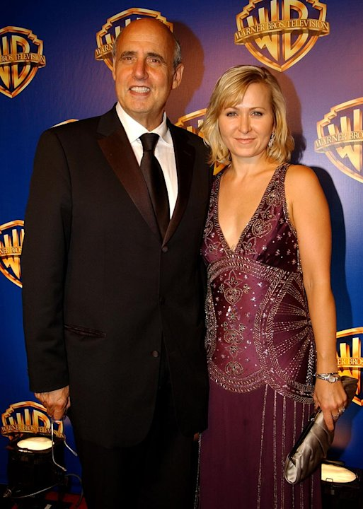 Jeffrey Tambor and wife at the 58th Annual Primetime Emmy Awards - Warner Bros. Television Party. 