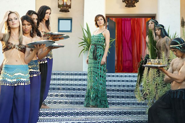 """Up In Smoke""--Jessica Stroup as Erin Silver on 90210 on The CW. Photo: Michael Desmond/The CW ©2011 The CW Network. All Rights Reserved. 90210"
