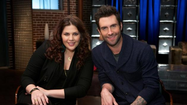 Hillary Scott and Adam Levine, 'The Voice' --