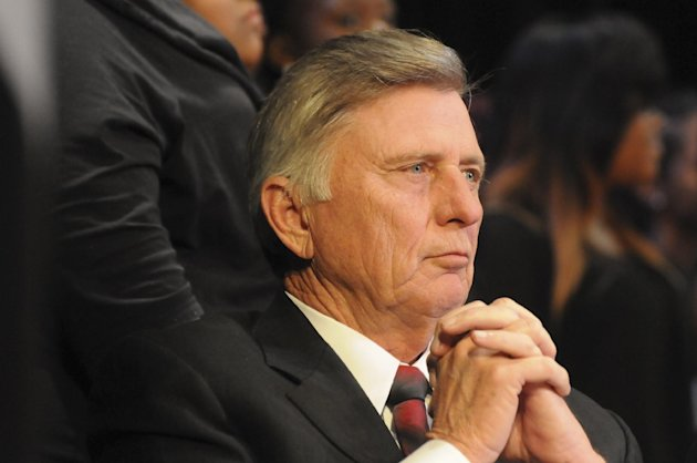 Arkansas governor Mike Beebe looks on during a Martin Luther King Jr. service in Little Rock, Arkansas in this January 15, 2013 Governor's office handout photo obtained by Reuters March 6, 2013.   Arkansas was set to enact the nation's most restrictive law on abortion, banning most abortions after 12 weeks of pregnancy, after the state's Republican-controlled House on Wednesday voted to override Beebe's veto of the bill.  REUTERS/Arkansas Governor's Office/Handout   (UNITED STATES - Tags: POLITICS HEADSHOT HEALTH) THIS IMAGE HAS BEEN SUPPLIED BY A THIRD PARTY. IT IS DISTRIBUTED, EXACTLY AS RECEIVED BY REUTERS, AS A SERVICE TO CLIENTS. FOR EDITORIAL USE ONLY. NOT FOR SALE FOR MARKETING OR ADVERTISING CAMPAIGNS