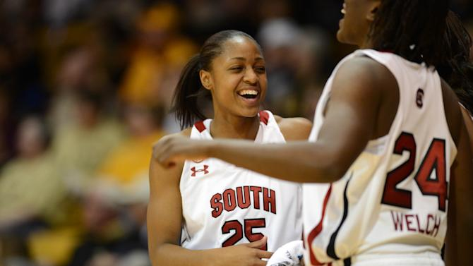 NCAA Womens Basketball: NCAA Tournament-South Dakota State vs South Carolina