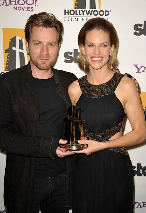 13th Annual Hollywood Awards Gala 2009 Ewan McGregor Hilary Swank