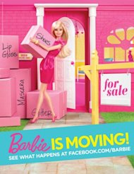 Barbie(R), the world&#39;s most fashionable doll, officially put her coastal Dreamhouse(R) on the market - signaling the launch of a year-long global brand campaign. With the help of her realtor-to-the-stars Josh Altman, the impressively scaled Dreamhouse(R) is currently listed for $25 million* and can be exclusively viewed at Trulia.com/Barbie. *for entertainment purposes only (Photo: Business Wire) &lt;a href=&quot;http://www.businesswire.com/cgi-bin/mmg.cgi?eid=50554508&lang=en&quot;&gt;Multimedia Gallery URL&lt;/a&gt;