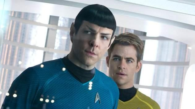 Zachary Quinto and Chris Pine in 2013's 'Star Trek Into Darkness' -- Paramount