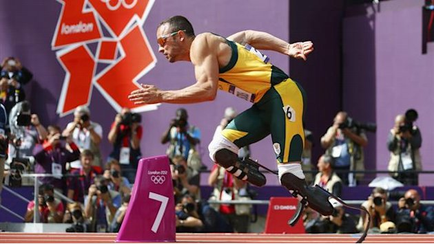 Oscar Pistorius hace historia en Londres 2012