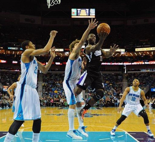 Anderson scores 27, Hornets beat Kings 114-105