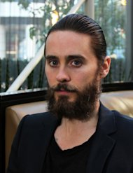 In this Sept. 12, 2012 photo, Thirty Seconds to Mars frontman Jared Leto poses for a portrait during the 2013 Toronto International Film Festival. Leto announced Monday, March 18, 2013 that the band will release its fourth album on May 21. (AP Photo/John Carucci)