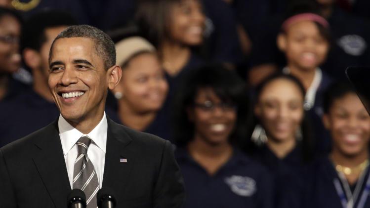 Obama: Growth vs. deficit reduction a false choice