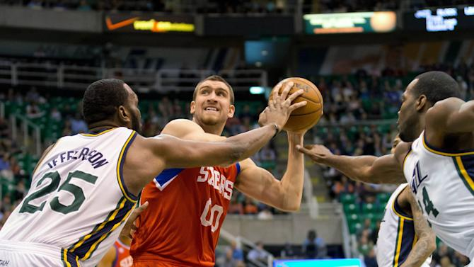 NBA: Philadelphia 76ers at Utah Jazz
