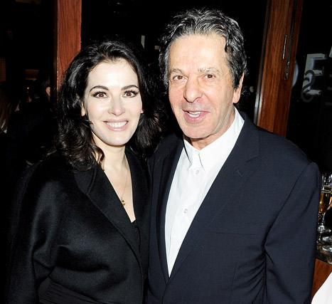 Nigella Lawson's Husband Charles Saatchi Files For Divorce